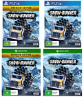 Snowrunner Snow Runner PS4 Playstation 4 XBOX One XB1 Truck Rig Driving Sim Game