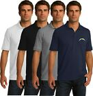 Los Angeles Chargers Golf Polo Shirt - up to 6X Embroidered $19.95 USD on eBay
