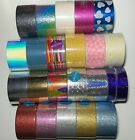 You Pick Duck Brand Crafting Tape Rolls - Glitter Prism Fabric Mirror Glow Tape
