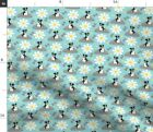 Spot Dog Mutt Puppy Pooch Mans Best Friend Fabric Printed by Spoonflower BTY