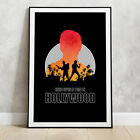 Once Upon a Time in Hollywood Poster - Tarantino movie prints Dicaprio Brad Pitt