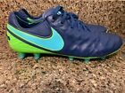 Nike Tiempo Legend VI AG Kangaroo Leather Soccer Cleats 844593-443 Sz  9