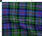 Davidson Double Clan Tartan Plaid Scottish Fabric Printed by Spoonflower BTY