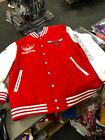 ADDIDAS CHICAGO BULLS JACKET MENS  OFFICIAL NBA  RED/WHITE on eBay