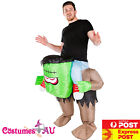 Mens Inflatable Frankenstein Rider Costume Monster Ride Carry me Adult Blow Up
