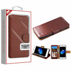 Apple iPhone 7 8 SE 2020 Leather Flip Wallet Case Protective Stand Pouch Cover