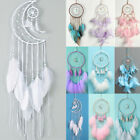 Macrame Dream Catcher Feather Wall Hanging Dreamcatcher Crafts Room Home Decor