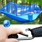 US: Portable Camping Hammock Haning Tent W/ Mosquito Net Tree Outdoor 1/2 Person