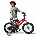 RoyalBaby Kids Bike Boys Girls Freestyle Bicycle 12 inch with Training Wheels