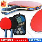 Ping Pong Paddle Set  3 Balls 2 Paddles  for Indoor or Outdoor Play