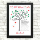 Birthday Gifts for Dad PERSONALISED Daddy Grandad Grandpa Gifts - ANY NAME