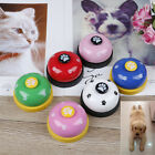 Cute Pet training bell dog toys Puppy Pet Call Dog paw print ringer pet suppYBZ