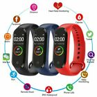 SMARTWATCH M4 OROLOGIO SMART BAND FITNESS TRACKER CARDIOFREQUENZIMETRO 3 COLORI