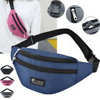 Travel Fanny Pack Waist Bum Bag Outdoor Sports Shoulder Belt Money Wallet Pouch