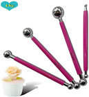 4 Pcs, Ball Rod Stylus Modeling Tools, Double-Ended Metal Ball Tools, Sculpting  image