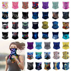 Multiuse Biker Balaclava Cycling Neck Tube Scarf Snood Face Mask Bandana Upf 50+