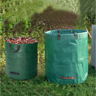 45/72GAL Reusable Garden Waste Bag Heavy Duty Waterproof Rubbish Sack Grass Yard