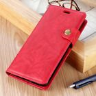 Case Cover Protection Leather Premium Quality Leather Case Cover Alcatel 1