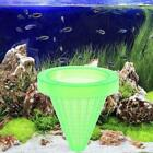 Aquarium Basket Feeder With Suction Cup Fish Food Spread D7r6 Feeder Coned D4x1