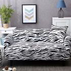 1-4 Seater Stretch Chair Sofa Covers Elastic Slipcover Protector w/ Pillow Cover
