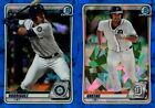 2020 BOWMAN SAPPHIRE EDITION #1-150 PROSPECT ROOKIE RC SINGLES - YOU PICK Baseball Cards - 213