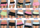 Wholesale Lot Multicolor EXOTIC PLEATED ROLLER DANCE MICRO MINI SKIRT RAVE S M L