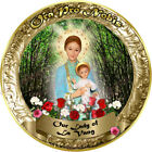 Our Lady of La Vang, Vietnam gold round 4 inch custom refrigerator magnet.