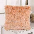 UK Luxury Fluffy Soft Cushion Cover Throw Pillow Case Sofa Home Decor Plush 17