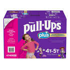 Huggies Pull-Ups Plus Training Pants For Girls (select size)