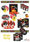 Pirate Birthday Decorations Party Tableware Napkins Plates Cups Banners Balloons