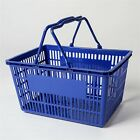 6pcs Plastic Shopping Baskets Basket Hand Business Supermarket Store Shop Bulk