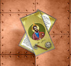 Saint St Jude Thaddeus the Apostle Catholic Icon Holy Prayer Card.