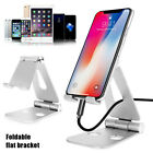 Foldable Aluminum Desk Stand Adjustable Holder For iPhone iPad Samsung Tablet