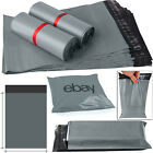 "21"" x 24"" Grey Mailing Packing Bag Strong Poly Postal Postage Post Mail Bags Uk"