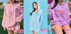 [BARBIE] BARBIE Edition - BARBIE long SLeeves Hoodie T-Shirt - Free Shippeing