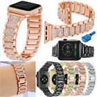 For Apple Watch Series 5 4 3 2 1 Stainless Steel Bracelet Wrist Watch Band Strap image