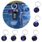 Fashion Gifts Constellation Key Chain Accessories Ring 12 Constellation Keyring