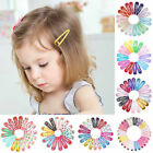 20pcs 5cm Snap Hair Clips for Hair Clip Pins BB Hairpin Color Metal Barrettes US