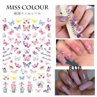 Kyпить ???? Butterfly Nail Stickers Waterproof Nail Art Design DIY Decal Pink ???? Flower  на еВаy.соm