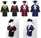 Toddlers Boys Girls Graduation Gown Cap School Set Fancy Party Dress Up Costumes