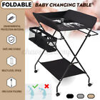 Baby Changing Table, Folding Diaper Station Nursery Organizer for Infant