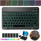 Slim Backlit Wireless Bluetooth Keyboard For LG G Pad 5 10.1 inch Android Tablet