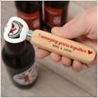 PERSONALISED 1st 2nd 5th Anniversary Wood Bottle Opener Gifts for Boyfriend Him