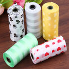 Roll Puppy Dog Poo Scented Biodegradable Poop Leak Proof Pets Waste Bags Outdoor