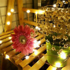 50/100 LED USB Party  String Fairy Lights Twinkle Firefly XMAS Decor Waterproof