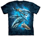 The Mountain Men's Underwater Shark Collage T-Shirt