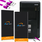 Upgraded AceSoft 3870mAh Battery for Samsung Galaxy J7 Sky Pro S727VL w/ Charger