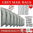 STRONG GREY SELF SEAL POLY POSTAL MAILING BAGS POSTAGE MAILERS CHEAPEST ON EBAY