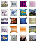 Ambesonne Cushion Pillow Cover Case Square Design 7 Sizes