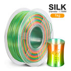 SUNLU PLA+ SILK 3D Printer Filament 1.75mm 1KG/2.2LB Rainbow Printing material